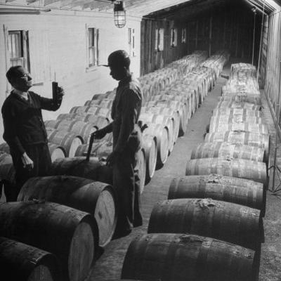 Proofing Whiskey at Jack Daniels Distillery by Ed Clark