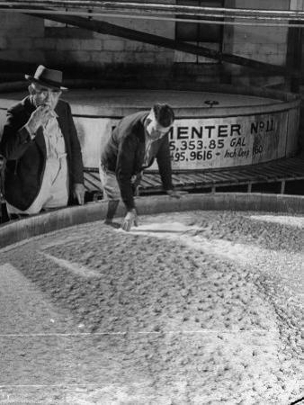Tasters Testing Whiskey at Jack Daniels Distillery by Ed Clark