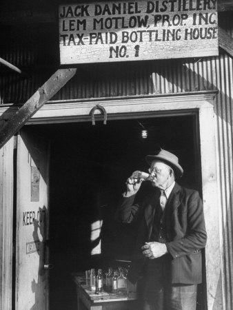 Tasters Testing Whiskey at the Jack Daniels Distillery