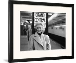 Marilyn Monroe, Grand Central by Ed Feingersh