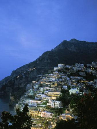 An Aerial View of Hillside Villages of Positano