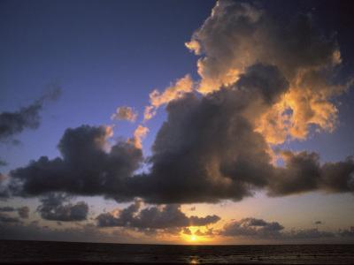 Sunset Near Silk Cay, Belize