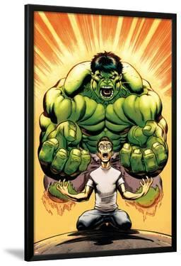 Hulk No.13 Cover: Banner, Bruce and Hulk by Ed McGuinness