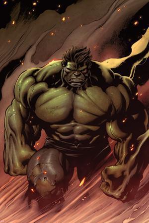 Hulk No.24: Hulk Walking by Ed McGuinness