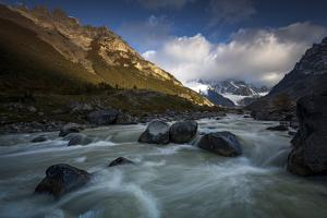 Rio Fitz Roy River, Mount Fitz Roy and Cerro Torre, Argentina by Ed Rhodes