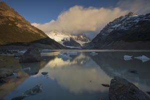 Sunrise at Laguna Torre, Los Glaciares National Park, Santa Cruz Province, Argentina by Ed Rhodes