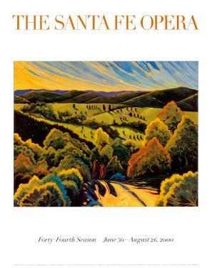 Arroyo Hondo, Santa Fe Opera 2000 by Ed Sandoval