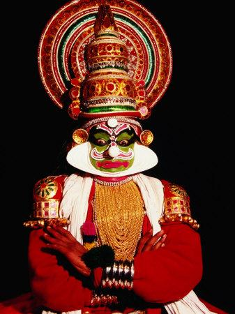 Kathakali Performance, Kochi, India