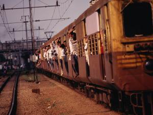 Suburban Train, Chennai, India by Eddie Gerald