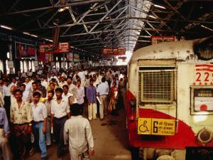 Victoria Terminus Train Station, Mumbai, Chennai, India by Eddie Gerald