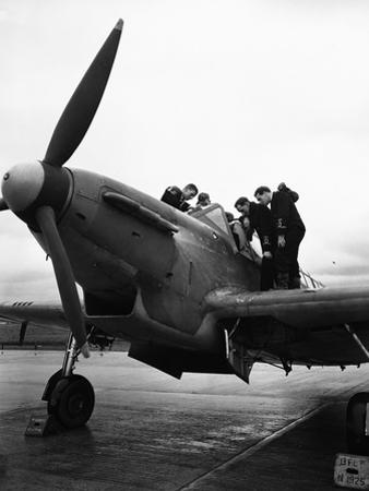 WWII England New Fulmar Plane