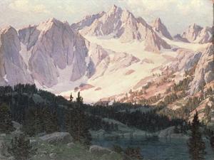 Lake in the High Sierra by Edgar Alwin Payne