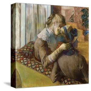 At the Milliners, 1881 by Edgar Degas