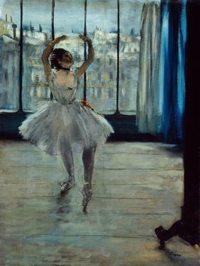 Ballerina at the Photographer's, c. 1877-78 by Edgar Degas