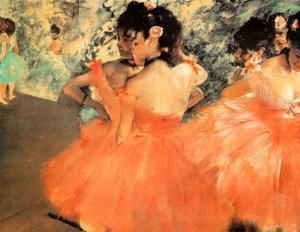 Edgar Degas Ballerine in Rosa Art Print Poster