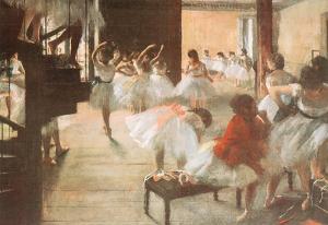 Edgar Degas Ballet Rehearsal Art Print Poster