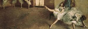 Before the Ballet by Edgar Degas
