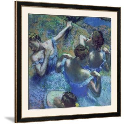 Blue Dancers, circa 1899 by Edgar Degas