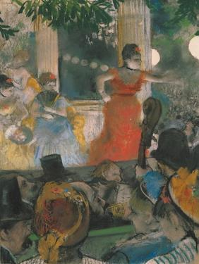 Cafe Concert at Les Ambassadeurs, 1876-77 by Edgar Degas