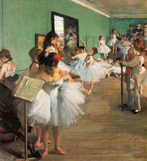 Dance Class, 1873 by Edgar Degas