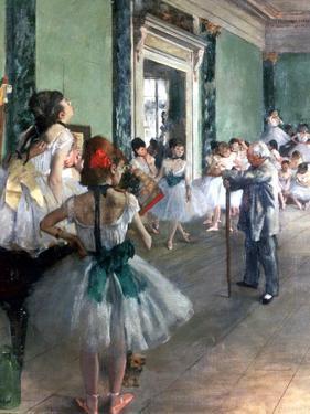 Dance Class, 1874 by Edgar Degas
