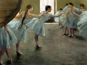 Dancer at Rehearsal by Edgar Degas