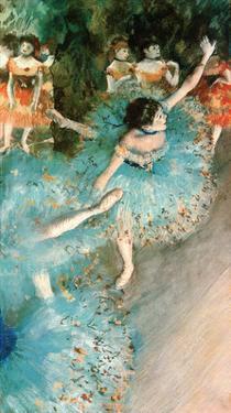 Dancer in Blue, 1884 by Edgar Degas