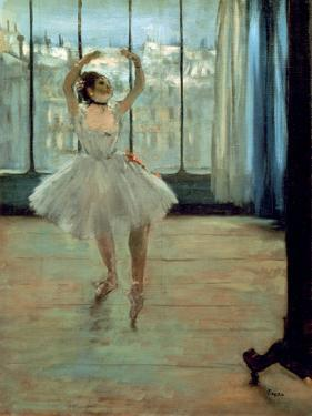 Dancer in Front of a Window by Edgar Degas