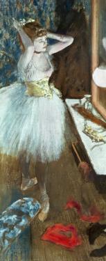 Dancer in Her Dressing Room by Edgar Degas