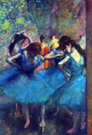 Edgar Degas Dancers Art Print Poster