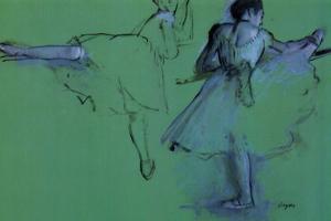 Edgar Degas Dancers at the Barre