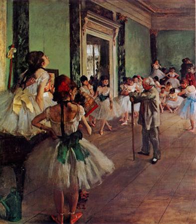 Dancing Class by Edgar Degas