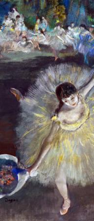 Dancing Girl, Fin D'Arabesque, 1877 by Edgar Degas
