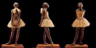 Dancing Girl of Fourteen by Edgar Degas