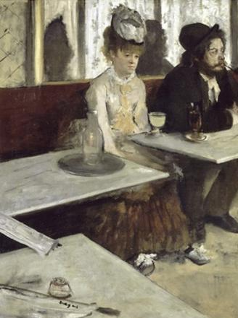 Dans Un Caf', Dit Aussi L'Absinthe (In a Caf', also Called Absinthe) by Edgar Degas