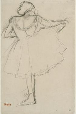 Danseuse à la barre by Edgar Degas