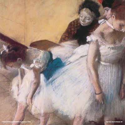 Degas- Before The Rehearsal, C. 1880 by Edgar Degas