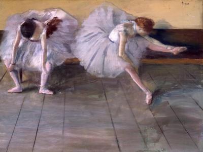 Deux danseuses, c.1879 by Edgar Degas