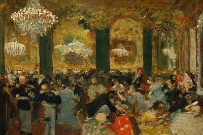 Dinner at the Ball, 1879, after Adolf Von Menzel (1815-1905)