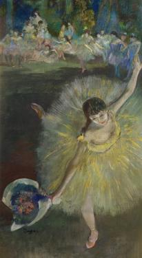 End of an Arabesque, 1877 by Edgar Degas