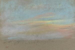 Etude de ciel by Edgar Degas