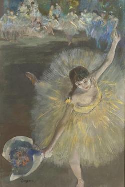 Fin d'arabesque ou Danseuse saluant by Edgar Degas
