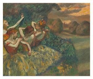 Four Dancers by Edgar Degas