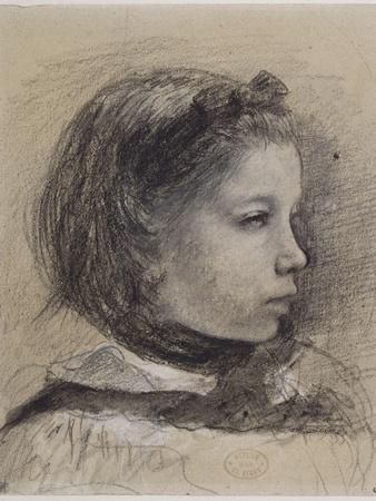 Giulia Bellelli, étude pour La famille Bellelli