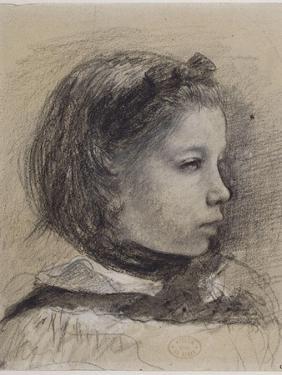 Giulia Bellelli, étude pour La famille Bellelli by Edgar Degas