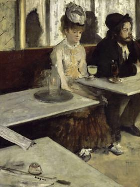 In a Cafe, 1873 by Edgar Degas