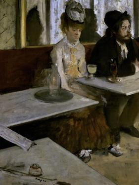 In a Cafe (The Absinthe) by Edgar Degas