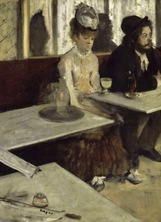In the Cafe, 1873 by Edgar Degas