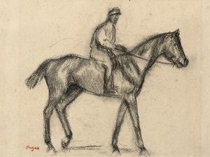 Jockey by Edgar Degas