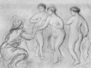 'Judgment of Paris' c1913 by Edgar Degas